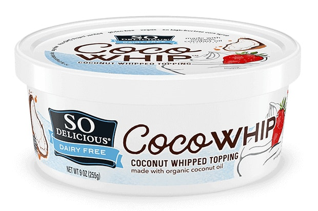 container of cocowhip