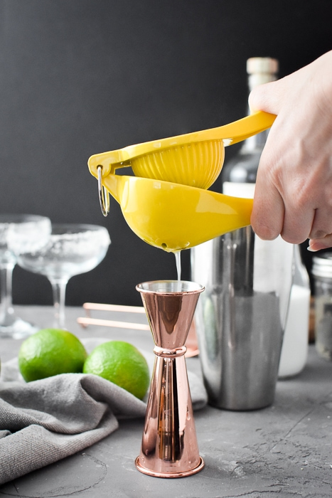 juicing a lime