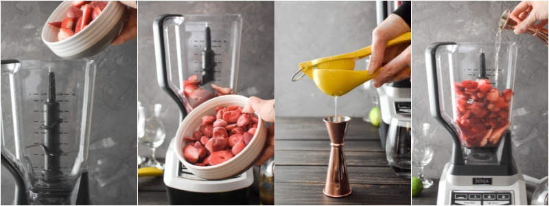 Strawberry Daiquiri How-To 1